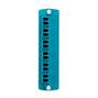 5F100-2QL AQUA FIBER ADPT PLT 6PK DPLX
