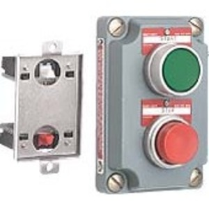 Hubbell-Killark XCS-0B4-U Cli Grn/red Pb 2univ Cv  (cs)