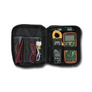 Extech TK430 Electrical Test Kit, w/ True RMS Multimeter and Clamp Meter