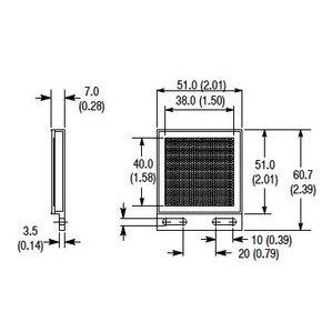 Allen-Bradley 92-118 Reflector, Microcube, for Polarized Retroreflective Laser Sensor