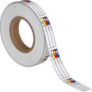 "Brady 121445 B7569,1x3"",hmig Label, 720/roll"