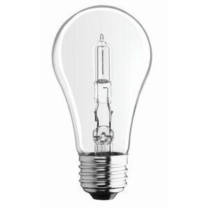 SYLVANIA 28A/HAL/CL/2-120V Halogen Bulb, A19, 28W, 120V, Clear