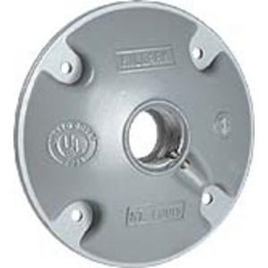 "Hubbell-Killark VJH-1 Hub Cover 1/2 X 1"" / Mtg Scrs"