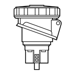 Pass & Seymour PS520R9-W P/S RECEP 5W 20A 3PH
