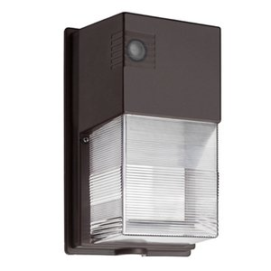 Lithonia Lighting TWS-LED-P1-50K-MVOLT-PE-DDB-M4 LED Wallpack, 18 Watt, 2100 Lumen, 5000K, 120-277V, Photocell