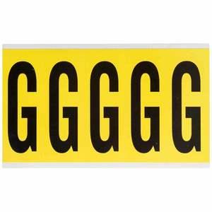 3460-G 34 SERIES NUMBER & LETTER CARD