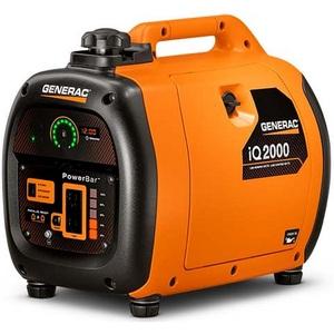 Generac 6866 Generator, Residential Inverter, 2kW, 120VAC, 13.3A, iQ Series *** Discontinued ***