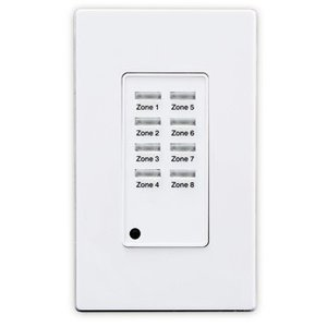 Leviton ZMDSW-8W LEV ZMDSW-8W DIGITAL PUSHBUTTON