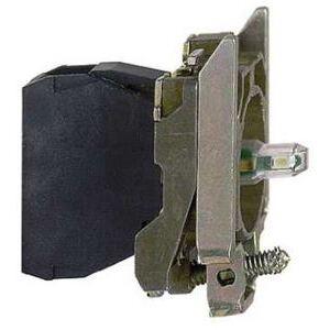 Square D ZB4BVJ4 Pilot Device, Mounting Base, Red LED, 12VAC/DC, Lamp Module, 22.5mm