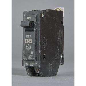 GE THHQB1125 Breaker, 25A, 120/240VAC, 1P, Bolt On, 22kAIC