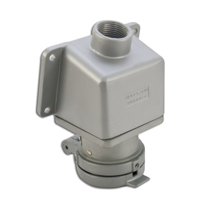Appleton ADRE3034-100 30 Amp, Pin & Sleeve Receptacle with Mounting Box, 3W4P