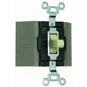 Pass & Seymour 1250-I Manual Controller, 15A, 120/277V, 1P