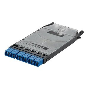 Panduit FHS9N-12-10N HD Flex LC Splice/FAP Cassette; 6-port D