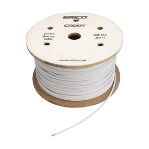 CSB18CBL STEEL CABLE 1/8IN X 250FT SPOOL