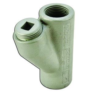 """Appleton EYSF-100 Conduit Seal, 1"""", Female/Female, Vertical (25% Fill), Malleable"""