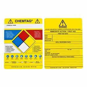 CHEM-CTI502 CHEMTAG INSERTS