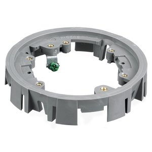 "Hubbell-Kellems PFBA1A Adapter Ring, Round, Diameter: 5"", For Series PFB1, Hardware Included"