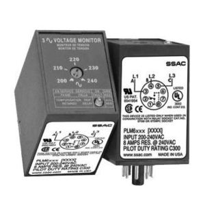SSAC PLM9405 Indust Relays 3 Phase Line Monitor