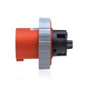 Leviton 460B7W Pin & Sleeve Receptacle, Watertight, 60 Amp