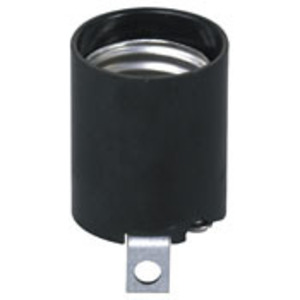 3352-F BLK PHENOLIC LAMPHOLD KEYLESS AL