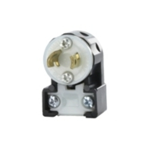 Leviton ML1-AP Angle Plug Black