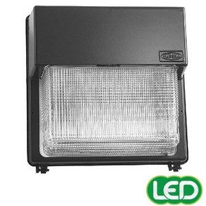 Hubbell - Lighting PGL-350P-128-1-LP Wallpack, Metal Halide, Quad Tap, 350 Watt