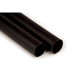"3M EPS400-.300-48-BLACK-12-PCS .300, 4:1 Thin Wall+Adhesive, 48"" Black, 12 Pcs"