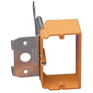 Carlon SC100ADJC Mounting Bracket, 1-Gang, Low Voltage, New Work, Non-Metallic