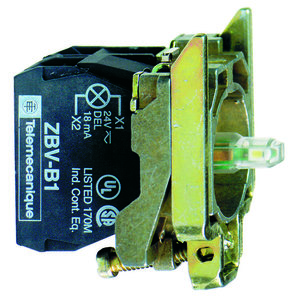 Square D ZB4BW0G45 RED 120V PROTECTED