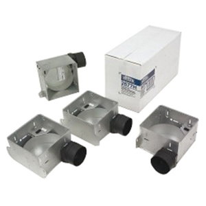 Broan 654H Housing Pack for 655F, 656F, 657F, 658F and 659F (damper/duct connector included). Type IC.