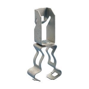 """Erico Caddy 123812M Conduit to Z Purlin Clip, EMT Conduit Size: 1/2"""" & 3/4"""", Steel"""