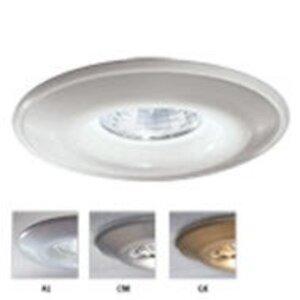 "Lightolier 316WHX Shower Trim, Low Voltage, 3-3/4"", White *** Discontinued ***"