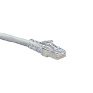 6AS1010S GY CAT6A SHIELD SLIM P/CORD