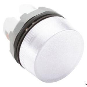 ABB ML1-100W 22mm Indicator Light, White, Modular