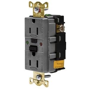 Hubbell-Wiring Kellems GFR5262SGGY 15A/125V INDL.