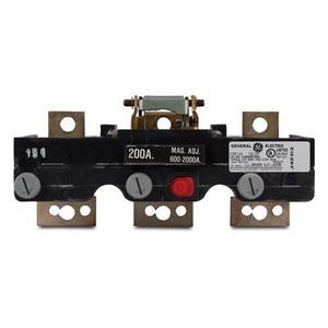 GE Industrial TJK436T250 Breaker, Molded Case, 250A, 600VAC, Trip Unit, 3P, J Frame