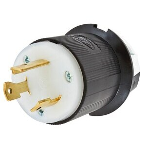 HBL2621 LOCKING MALE PLUG L6-30P