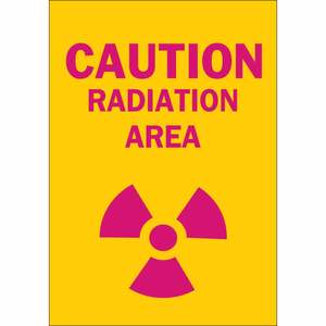25276 RADIATION & LASER SIGN
