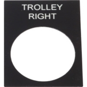 """ZB2BY2345 LEGEND """"TROLLEY RIGHT"""""""