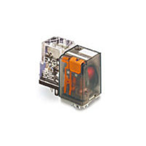 Tyco Electronics KRPA-11AN-120 Relay, Ice Cube, 8-Pin, 2PDT Contacts, 120VAC Coil, Enclosed