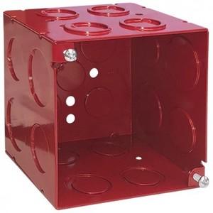 "Garvin Industries 52181-RED 4"" SQBX, 3-1/2D,"