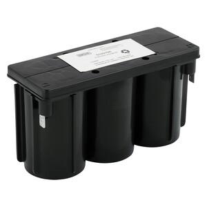 Hubbell-Dual-Lite 0120706 Emergency Light Battery, 6V, 5Ah
