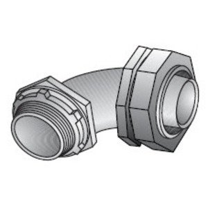 "EGS LML-71 Liquidtight Connector, 90 Degree, 2-1/2"", Die Cast Zinc"