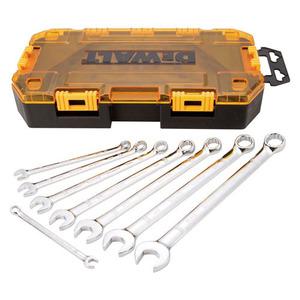 DEWALT DWMT73809 8-Piece Combination Wrench Set