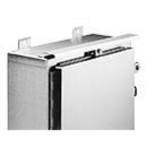 "nVent Hoffman ADK36SS6 Drip Shield Kit, Fits 36"" Wide Enclosures, Stainless Steel"