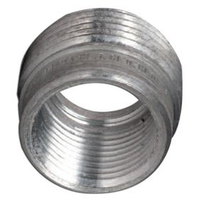 """Hubbell-Killark R-21 Reducing Bushing, Threaded, 3/4"""" x 1/2"""", Aluminum"""