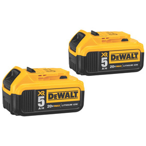 DEWALT DCB205-2 20V MAX* Premium XR Lithium Ion 2-Pack, Limited Quantities Available
