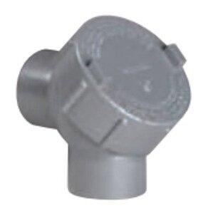 "Hubbell-Killark Y-5 Pulling Elbow, 90°, 1-1/2"", Explosionproof, Aluminum"