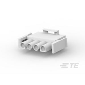 Tyco Electronics 1-480702-0 Universal Socket Plug, Soft Shell, 4-Circuit, 24 - 16 AWG
