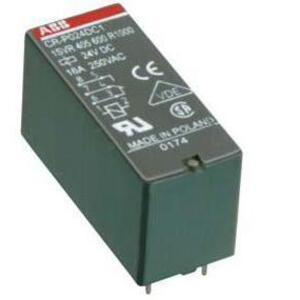 ABB 1SVR405600R1000 Circuit Board Relay, SPDT, 24V DC